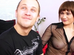 ShootOurSelf Super horny carry on sister drains her carry on brothers balls