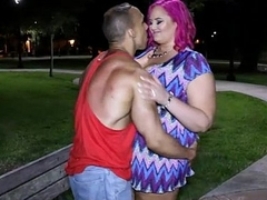 Order about Plumper MILF Meets Stranger in Woodland and Fucks