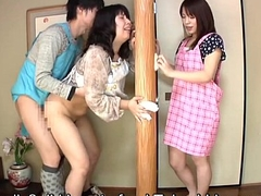 Subtitled Japanese risky sex with voluptuous mother down command