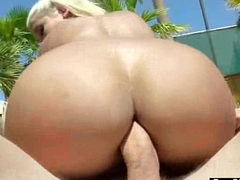 Big Ass Girl (bridgette b) Succeed in Oiled And Hard Anal Nailed On Camera movie-04
