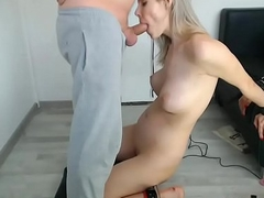 Blondie Likes Sex Toys and Fetish Prospect Fucking on Webcam