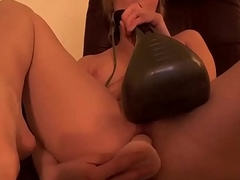 Blonde Teen Plays at hand Dildo - Dirtyyycams.com