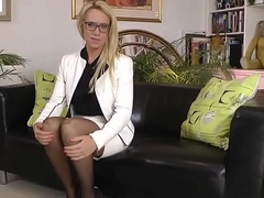 European slut sucks oldy
