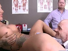(austin lynn) Naughty Hot Patient Bourgeoning Abiding With Doctor video-05