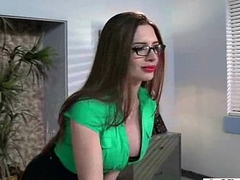 (veronica vain) Slut Big Tits Office Girl Like Sex Action video-30