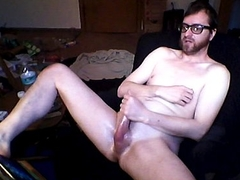 A really intense orgasm with cumplay