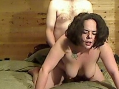Doggystyle cam show-talking beside a threesome