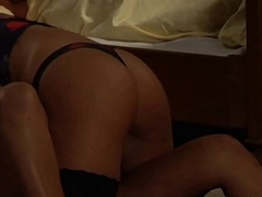 Beautiful Girl Spanked Added to Licked