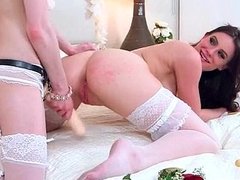 (dolly&amp_kymberlee) Lesbo Girl Get Dildo Sex Toy Punish Off out of one's mind Mean Lez video-17