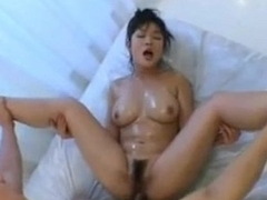 Chinese chest massage and fucked in her hairy pussy for more pornxgirl.com