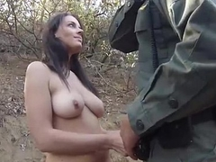 StripSearch And Blowjob Be worthwhile for Border Agent