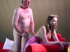 Experienced young escort ass ass fucking in the craziest fuck with confessor