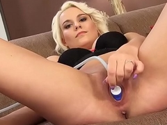 Unnatural czech cooky gapes her wet vagina to the strange