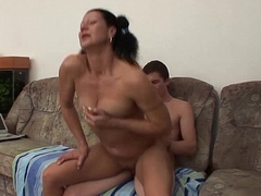 My Horny Stepmom Loves Receving Facual cumshots