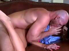 Johnny Sins think the world of Abigail Macs snatch doggystyle